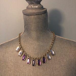 Purple Ombré Necklace